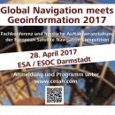 Global Navigation meets Geoinformation 2017